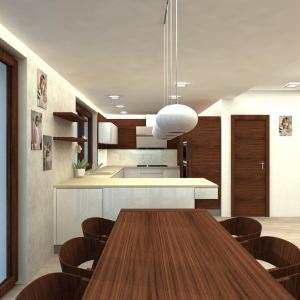vizualizace jidelny a kuchyne