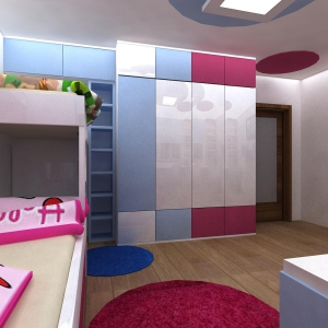 vizualizace detskeho pokoje